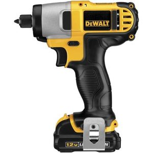 "DEWALT DCF815S2 Cordless Impact Driver, 1/4"", 12V, Limited Quantities Available"