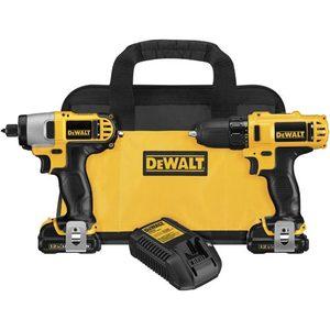 DEWALT DCK211S2 12-Volt Max Drill/Driver / Impact Drive