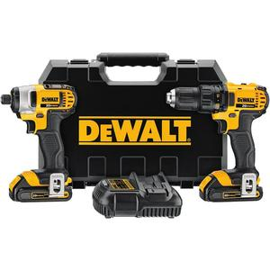 DEWALT DCK280C2 20V Max Cordless Tool Kit