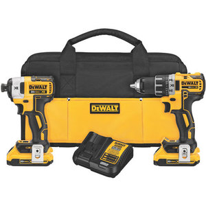 DEWALT DCK283D2 20V Lithium Ion Brushless Compact Drill / Driver