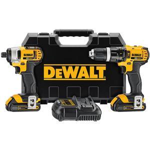 DEWALT DCK285C2 20V Max Cordless Tool Kit