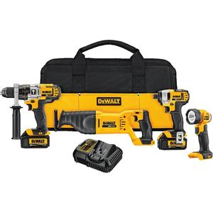 DEWALT DCK490L2 20V Max Cordless Tool Kit, Limited Quantities Available