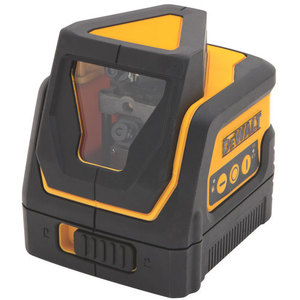 "DEWALT DW0811 Cross Line Laser, 1/4"" and 5/8"" Thread"