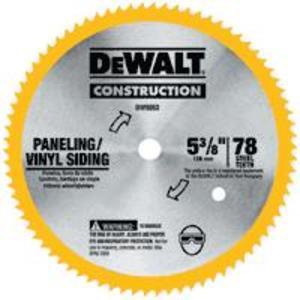 """DEWALT DW9054 5-3/8"""" Circular Saw Blade"""