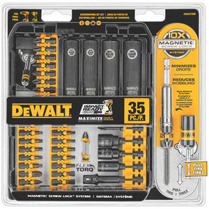DEWALT DWA2T35IR 35 Piece Impact Ready Screw-drivin Kt