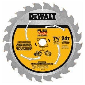 """DEWALT DWAFV3724 7-1/4"""" Circular Saw Blade"""