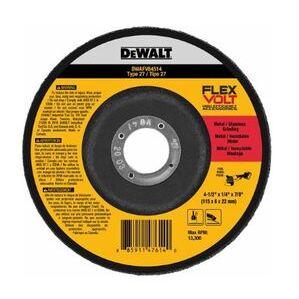 "DEWALT DWAFV84518H 4-1/2"" Grinding Wheel"