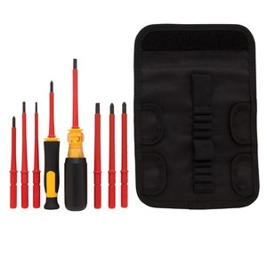 DEWALT DWHT66417 Vinyl Grip Insulated Screwdriver Set