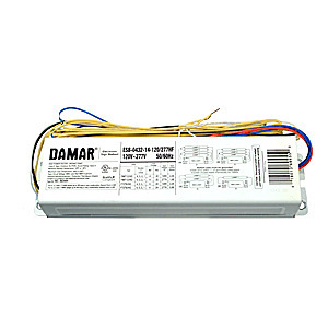 Damar 06244H Electronic Sign Ballast, T8/T12HO, 120-277V