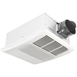 Delta Products RAD80L 80 CFM Fan/Light/Heater, Compact Fluorescent, Energy Efficient