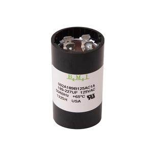 DiversiTech 189-227 Motor Start Capacitor, 125V, 189-227 uF