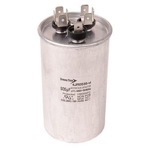DiversiTech 4JR0535 Motor Run Capacitor, 440V, 35+5uF
