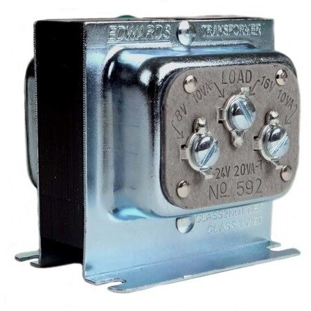 edwards - 592, doorbell & chime, signaling transformers, power distribution  - platt electric supply  platt electric supply
