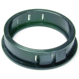 "Dottie 1210D Snap-In Knockout Bushing, 1/2"", Nylon"