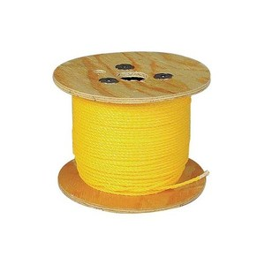 Dottie 14100 1/4 X 1000' Pull Rope - Polypropylene - Yellow