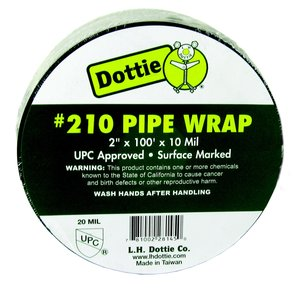 "Dottie 210 Corrosion Protection Tape, 10 mil, Printed, 2"" x 100'"