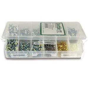 Dottie APS1 Wallplate Screw Kit - 12 Compartment Box