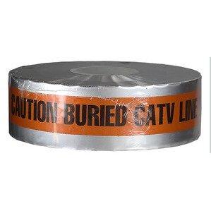 "Dottie DU08  Detectable Tape, ""Caution Buried CATV Line Below"", 3"" X 1000' - Orange"