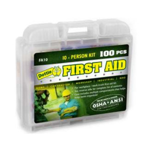 Dottie FA10 10-Person First Aid Kit - 100 Pieces
