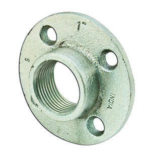 "Dottie FF100 Floor Flange, Threaded, 1"", Malleable Iron"