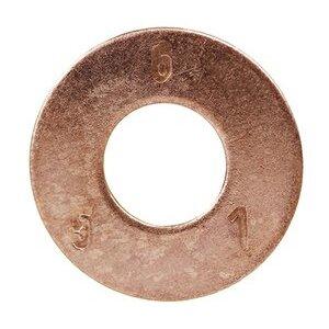 """Dottie FWBZ516 Flat Washer, Silicon Bronze, 3/8"""" ID, 7/8"""" OD"""
