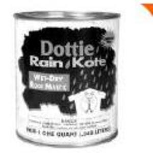 Dottie RKM4 Roof Mastic - 1 Gallon Jug