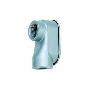 "Dottie SLB50 Conduit Body, Type SLB, 1/2"", Cover/Gasket, Aluminum"