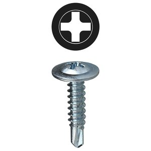 "Dottie TEKW834BK 3/4"" Self Drilling Screw"