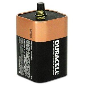 Duracell MN908 Battery, 6V, MN908, Alkaline, Spring Terminal