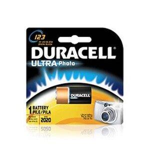 Duracell PL123BKD01 Battery, 3V, 123, Lithium, Photo