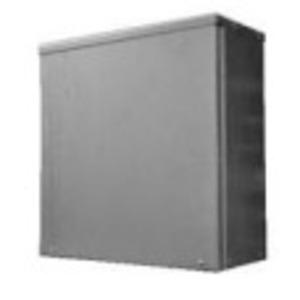 "E-Box 664RB Junction Box, NEMA 1, Screw Cover, 6"" x 6"" x 4"", Knockouts, Steel"