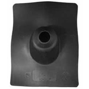 """EGS 1070-N Roof Flashing, 2"""", 9"""" x 11.5"""", Black, Neoprene"""