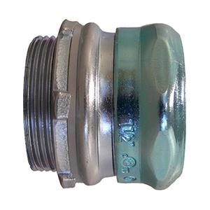 "EGS 7200GSR EMT Compression Connector, Raintight, 2"", Steel/Zinc"