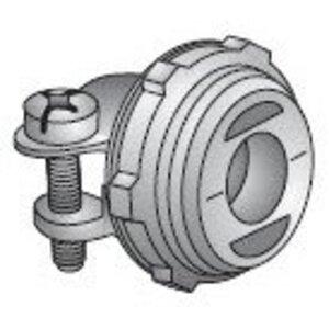 """EGS C-510 Flex Connector, 2-Screw, Straight, 3/8"""", Die Cast Zinc"""