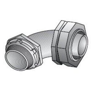 "EGS LML-71 Liquidtight Connector, 90 Degree, 2-1/2"", Die Cast Zinc"