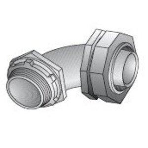 "EGS LML-81 Liquidtight Connector, 90 Degree, 3"", Die Cast Zinc"