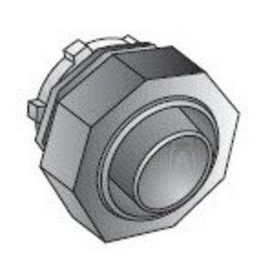 "EGS LMM-91 Liquidtight Connector, Straight, 4"", Die Cast Zinc"