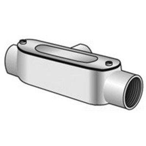"""EGS TC-100 Conduit Body, Type T, 1"""", Spec 5, Aluminum"""