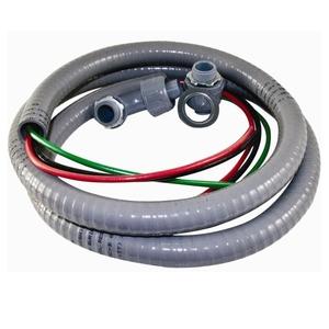 EPCO ACWNM1063-1RA 6' Non-Metallic Liquidtight Fixture Whip, 10 AWG Stranded