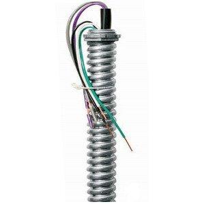 EPCO EPW1865SA-BWGPG Metallic Whip, 18GA, 277V