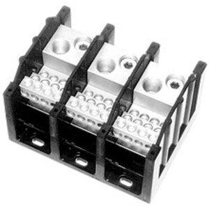 Eaton/Bussmann Series 16528-3 Power Distribution Block, 3-Pole, Double Primary - Multiple Secondary