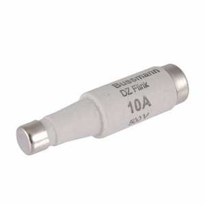 Eaton/Bussmann Series 16D16 16 Amp DIN Style Type D Low Voltage Industrial Fuse, 500V, Gray, 10mm