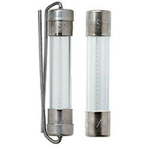 "Eaton/Bussmann Series AGC-3-1/2 Fuse, 3-1/2A Fast-Acting Glass, 1/4"" x 1-1/4"", 250VAC"