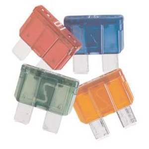Eaton/Bussmann Series ATC-10 Fuse, 10 Amp Automotive Blade-Type, Red, 32V, Type ATC