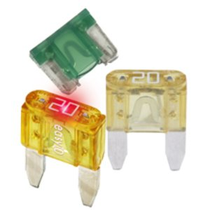 Eaton/Bussmann Series ATM-30 Fuse, 30 Amp Automotive Blade-Type, Green, 32V, Type ATM