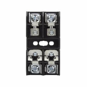 Eaton/Bussmann Series BC6032PQ Fuseblock, Class CC, 2-Pole, 30A, 600V, Pressure Plate