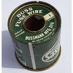 "Eaton/Bussmann Series BFW-10 Fuse Wire, 10 Amp Rating, .055"" Diameter"
