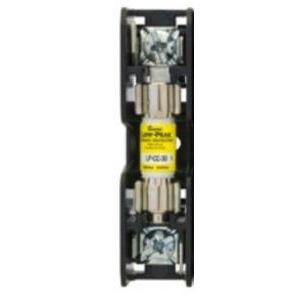 Eaton/Bussmann Series BMM603-1SQ Fuse Block, 1P, 30A, 600V AC/DC, 10 x 38mm, Quick Connect, 200kAIC