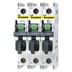 Eaton/Bussmann Series CCP-3-30CC Compact Circuit Protector, 3-Pole, 30 Amp, 600V, for Class CC Fuse