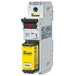 Eaton/Bussmann Series CCP-3-30CF Compact Circuit Protector, 3-Pole, 30 Amp, 600V, for CUBEFuse